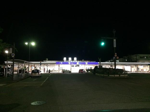 魚津駅 夜