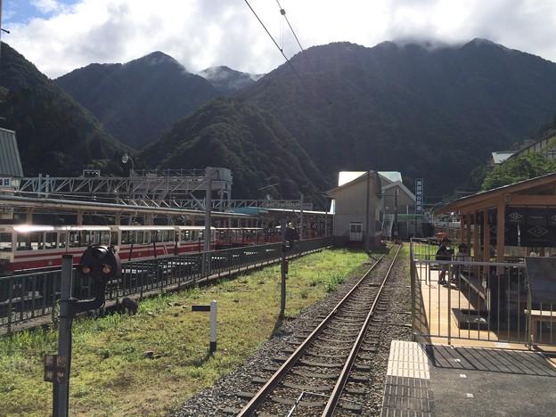 宇奈月温泉駅の、その先は…。