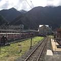 Photos: 宇奈月温泉駅の、その先は…。