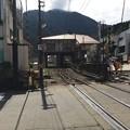 Photos: 踏切から見た宇奈月温泉駅