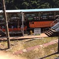 Photos: 黒部峡谷鉄道 宇奈月駅と客車