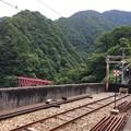 Photos: 宇奈月駅を出ると