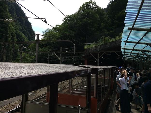 Photos: 欅平駅1