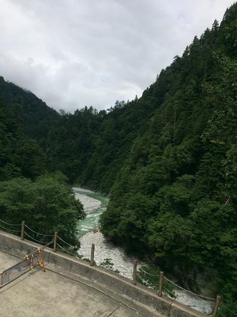 欅平の黒部川