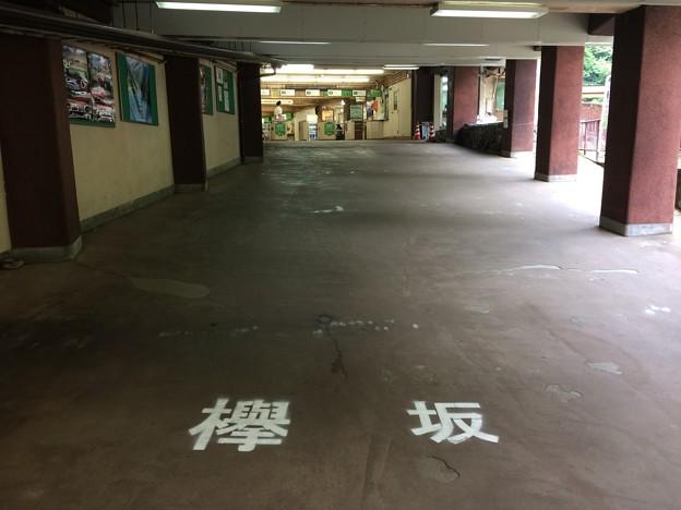 欅坂@欅平駅