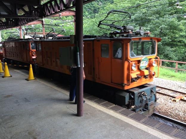 黒部峡谷鉄道 機関車