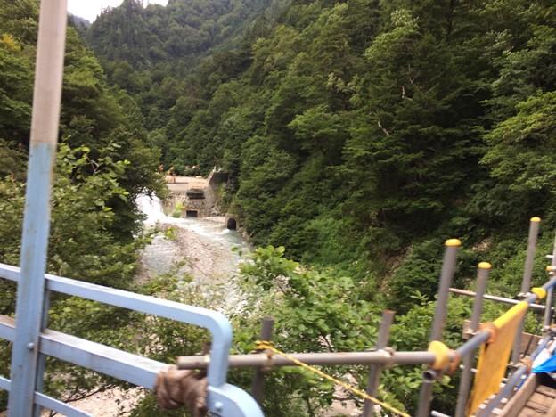 Photos: 黒部峡谷鉄道 車窓16