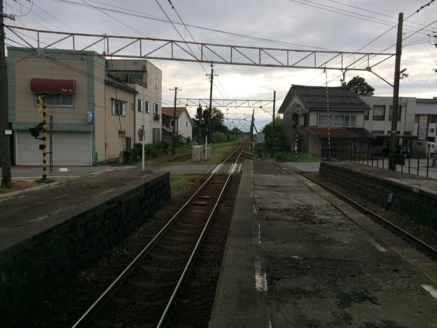 電鉄黒部駅8