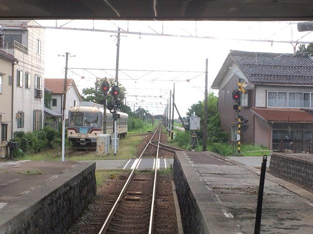 電鉄黒部駅10