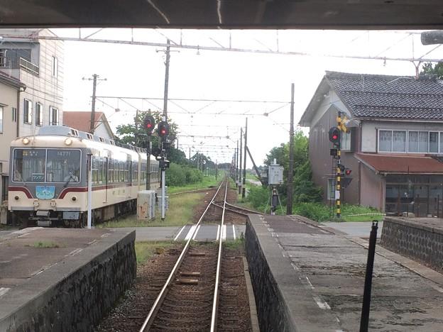 電鉄黒部駅11