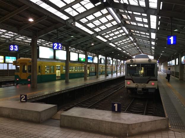 電鉄富山駅に到着