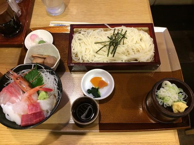豪勢な夕食@富山駅