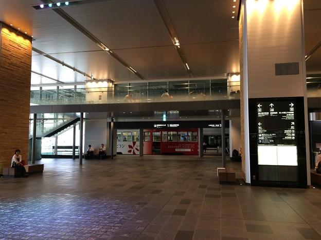 富山駅内 市内電車