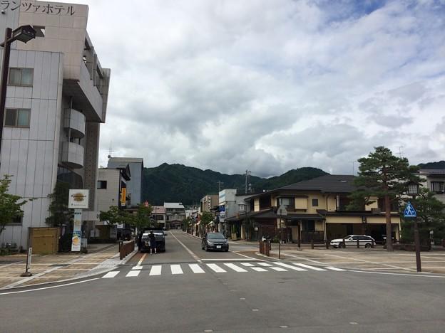飛騨古川駅前