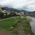 Photos: 飛騨川を渡る
