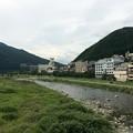飛騨川の流れ