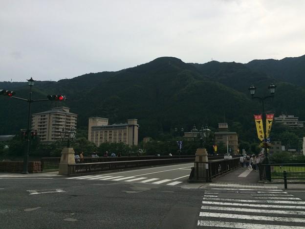 飛騨川にかかる橋