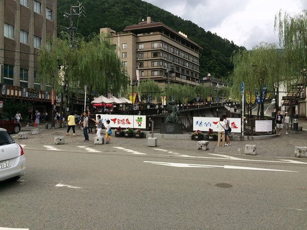 下呂温泉街10