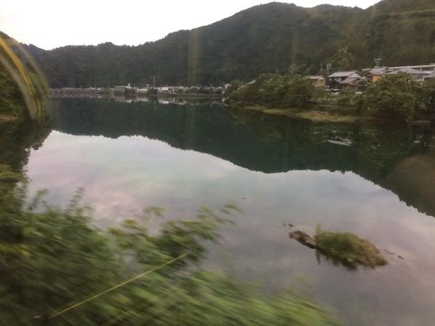 ダム湖?4