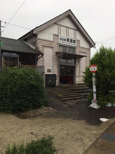旧名鉄美濃駅2