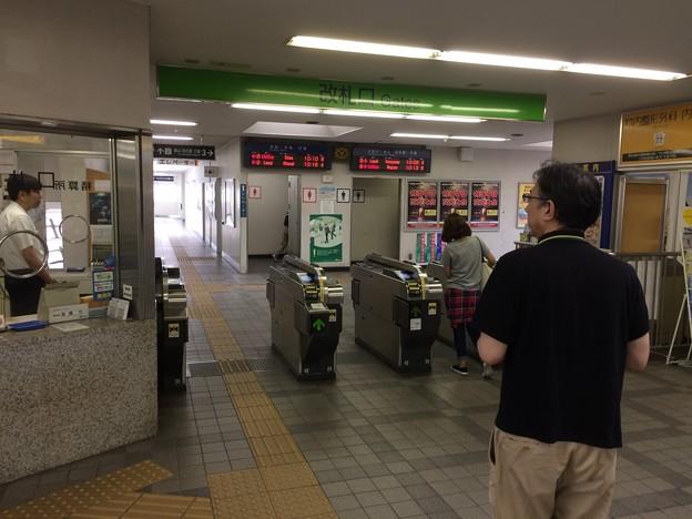 知多半田駅3 ~改札~