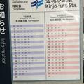 金城ふ頭駅4 ~時刻表~