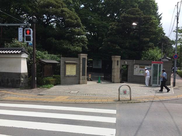 小石川後楽園 門2