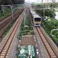 橋から見下ろした中央線