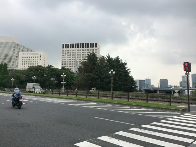 赤坂迎賓館前