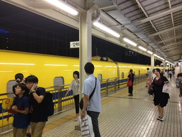 三島駅 ドクターイエロー1