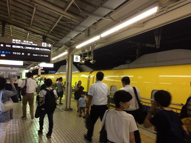 三島駅 ドクターイエロー2