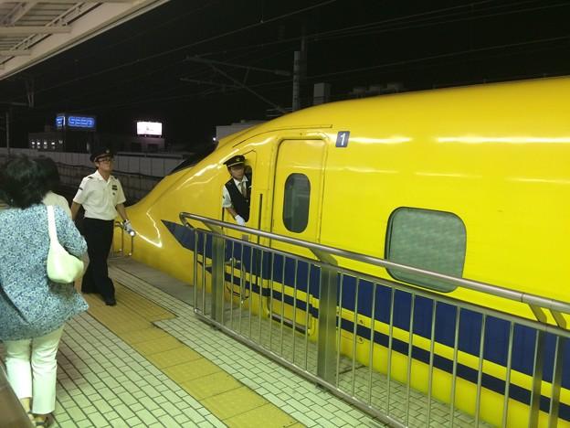 三島駅 ドクターイエロー3