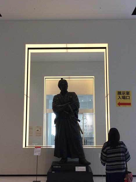 静岡市美術館 坂本龍馬像