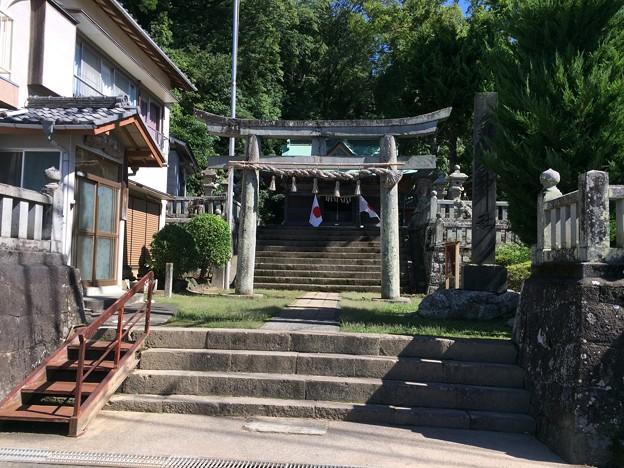 内浦の神社