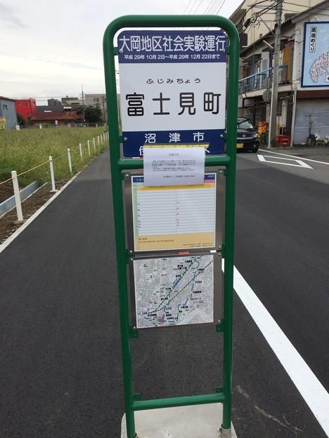 臨時バス停 富士見町
