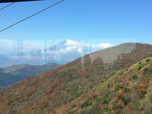 箱根駒ケ岳ロープウェイからの眺望3 ~富士山~
