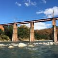 Photos: 長瀞舟下り7 ~秩父鉄道鉄橋2~