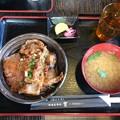 Photos: 長瀞での昼食 豚みそ丼