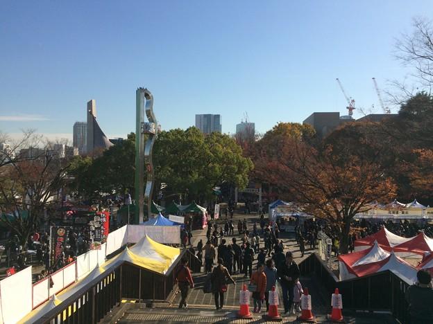 Photos: 代々木公園 そばのフェス