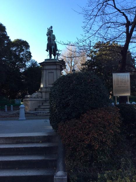小松宮彰仁親王銅像
