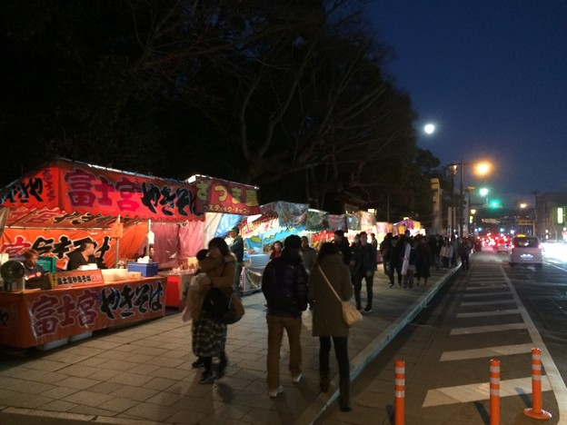 三嶋大社 露店