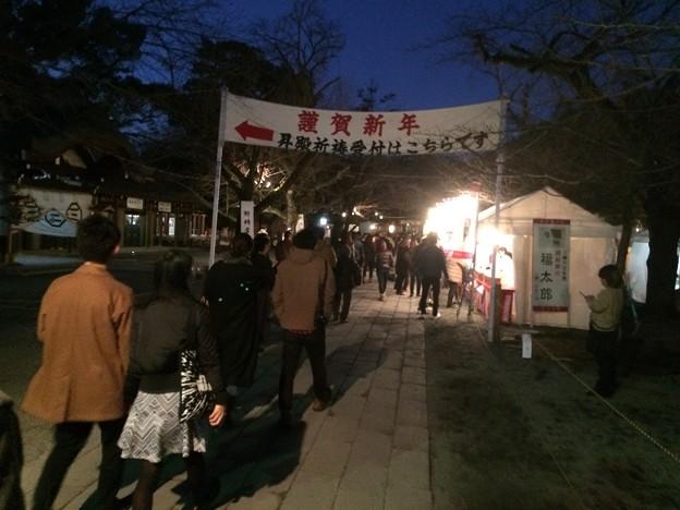三嶋大社 初詣