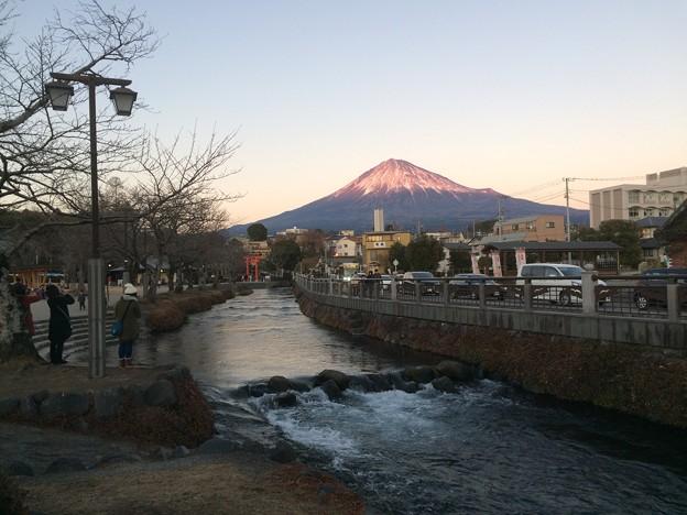 富士山本宮浅間大社から見た富士山2