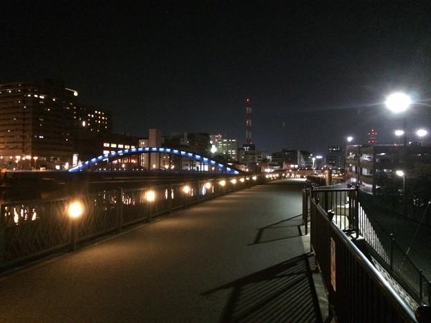 狩野川ランニング 夜景