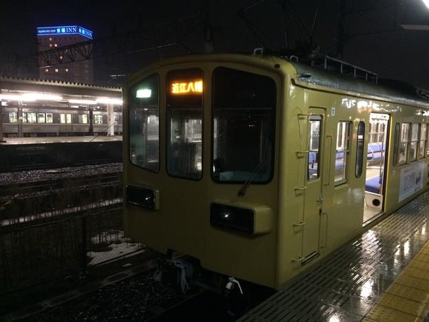 近江鉄道米原駅の西武系普通電車