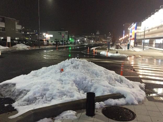 彦根の残雪1