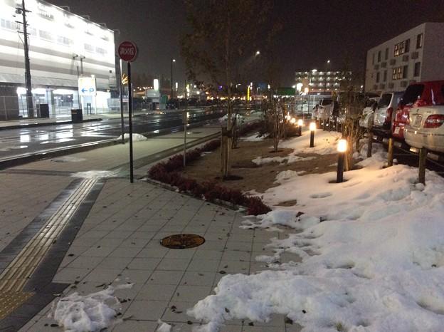 彦根の残雪2