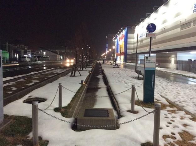 彦根の残雪3