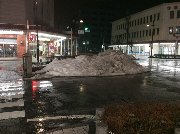 彦根の残雪4