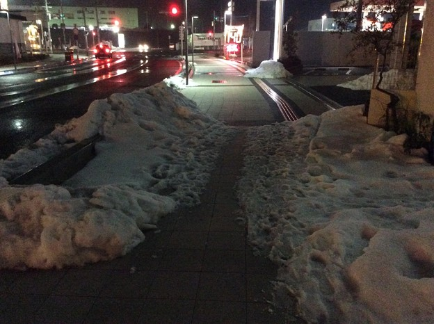 彦根の残雪5